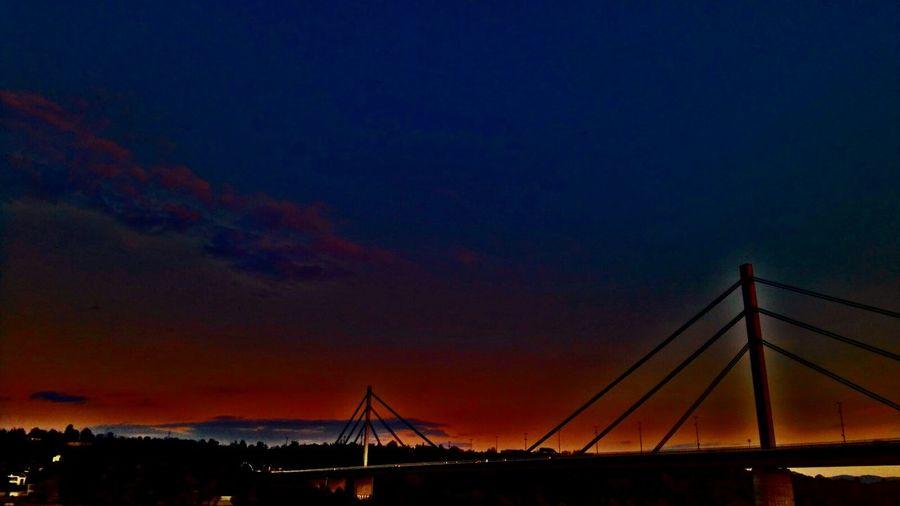 Night Dramatic Sky Nature Architecture City Sunset Bridge 🌆city🌃 Novi Sad
