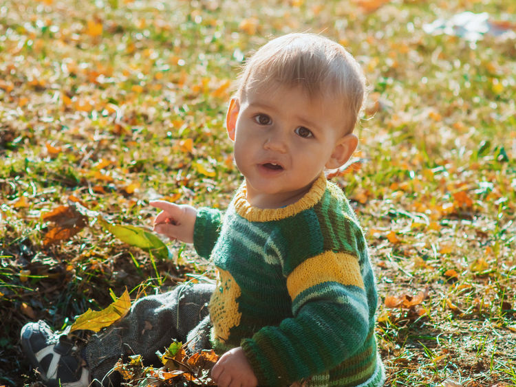 1year 1yearold Autumn Baby Babyboy Children Dad Dad And Son Family Fashion Love Nature Boy Child Childhood Cute Daddy Family Time Father Park Playing Portrait Smile Son Style