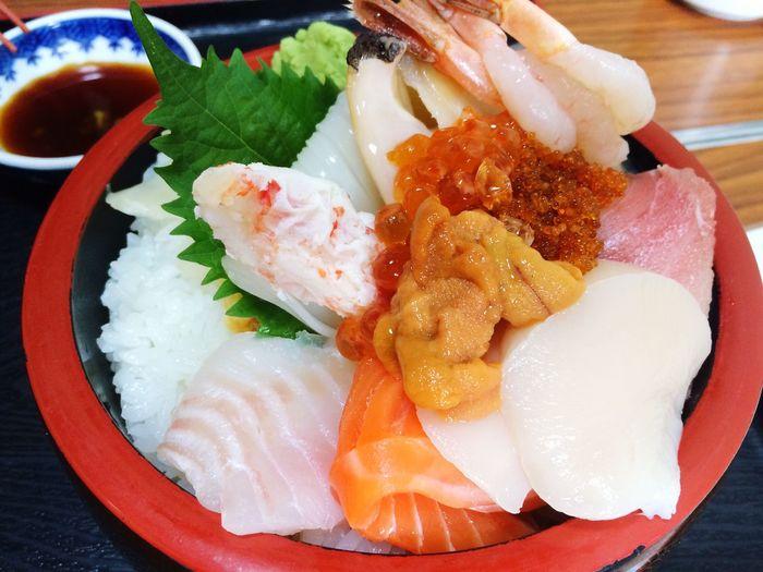 海鮮丼 Food And Drink Food Ready-to-eat Healthy Eating Plate Seafood Freshness