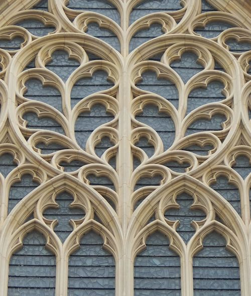 Arch Architectural Feature Architecture Backgrounds Building Building Exterior Built Structure Cathedral Façade Low Angle View No People Outdoors Pattern Shape Window York York Minster  Yorkshire