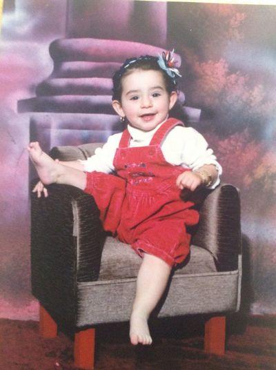 ?linda cuando era un beba