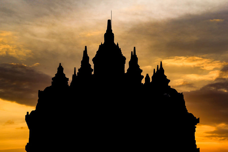 Landscape Tample Sunset Beauty Statue Place Of Worship Arrival Religion Silhouette Business Finance And Industry City Ancient