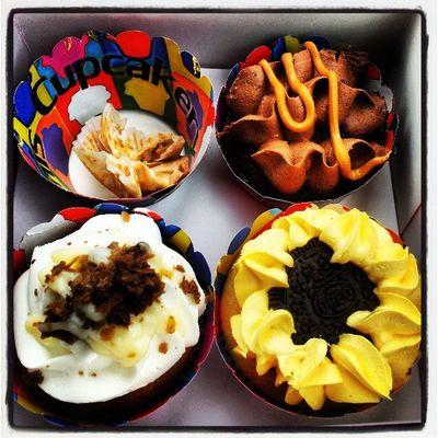 Mimis Cupcakes Chocolate Oreo Snickers boston cream cake yum food instagram instagood delicious beirut photography