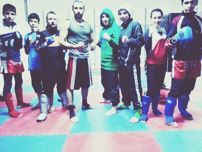 Kick Boks Muay Thai Trainning