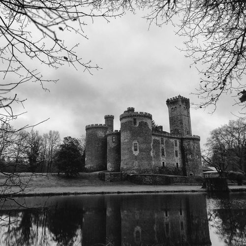 Castle on the hill Castle Water Sky Cloud - Sky Outdoors Building Exterior No People Day Architecture Nature