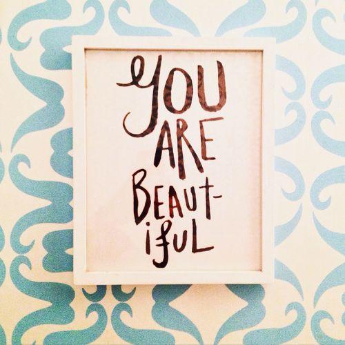Frame It! Frame Beautiful Youarebeautiful You Are Beautiful Words Word Beauty