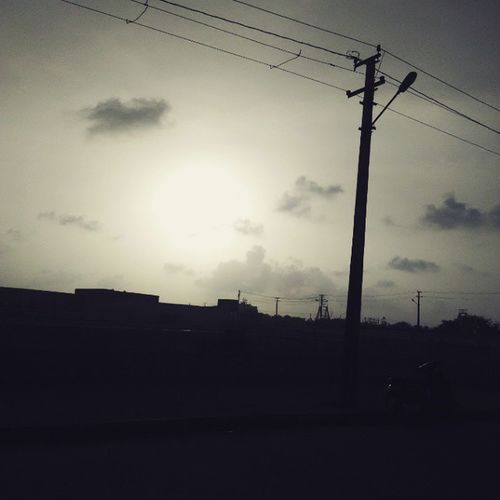 Last day in porbandar.. Last Day At Porbandar .. Early sunrise at chopati.. Sunrise Great At Chopati ..