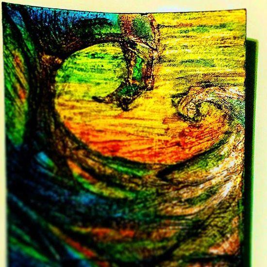 Doodlenookmark Doodle Scribbles Scratching Waves Crosshatch Impression Color Bold Madefromscratch Dark Sickwaves Homemadebs Art Artist Muse Minx