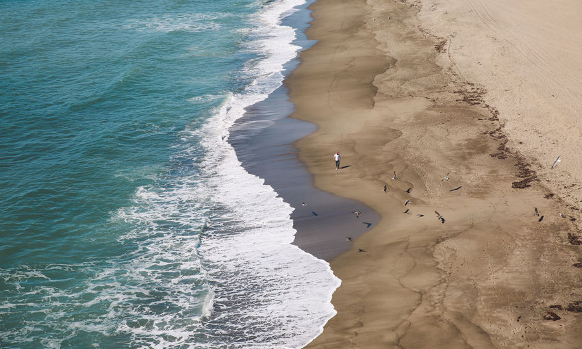 California Malibu Pacific Point Dume Beach Birds Ocean View From Above Waves Done That. Lost In The Landscape Connected By Travel Lost In The Landscape Perspectives On Nature California Dreamin