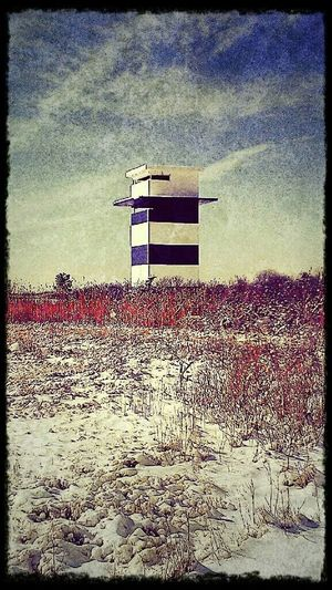 Tower Watch Tower Snowy Beach Hdr_Collection HDR Effect Hdrphotography Hdr_lovers EyeEm Best Shots EyeEm Gallery EyeEm Best Edits EyeEm Nature Lover EyeEm Masterclass EyeEm Hdr-Collection My Winter Favorites Snow Covered Snow ❄