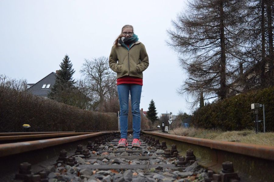 Summer Railroad Track Me Full Length Kühlungsborn Nikontop Nikonphotography Nikon Nikon D3200 Nikonphotographer Myfriendbehindthecamera