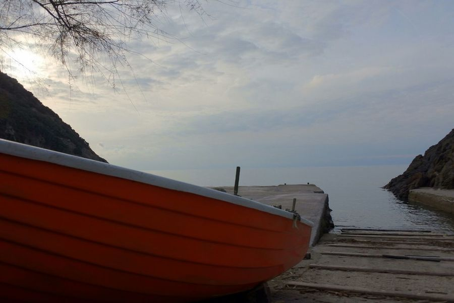 Showcase: December Mypointofview Seascape Boat Fishing Boat Sea Mar Tirreno Colors