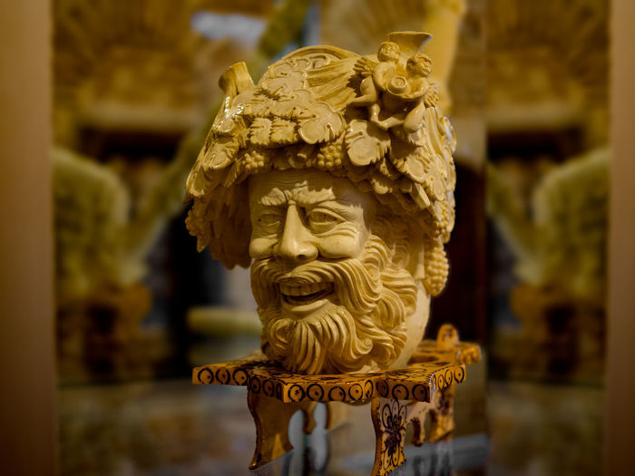 Made with natural stone, hand made sculpture in Eskisehir/Turkiye Art And Craft Creativity Representation Sculpture Craft Statue Religion Human Representation Focus On Foreground Belief No People Spirituality Gold Colored Architecture Place Of Worship Carving - Craft Product Gold Built Structure Close-up Ornate