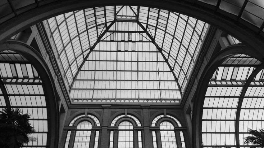 Picture of one of the many halls of Alexandra Palace. Alexandra Palace Arch Architectural Design Architecture Architecture Built Structure Indoors  Interior Low Angle View Skylight