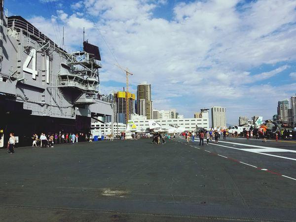 USS Midway  US Navy San Diego