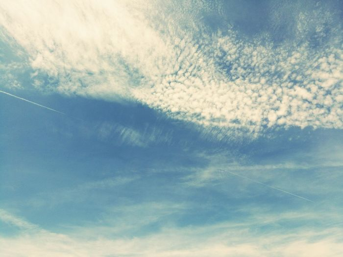 Blue Sky Bluesky Clouds And Sky White Clouds Beautiful Day France Frenchgirl French Photographer ☀☀