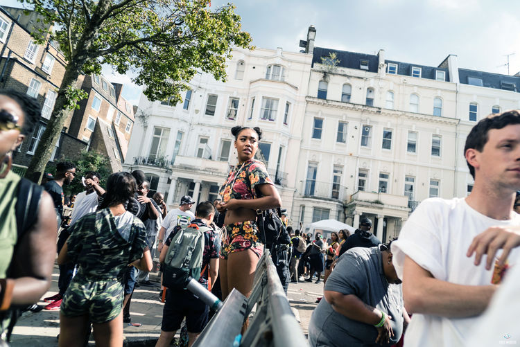 Notting Hill Carnival 2016 Architecture Building Exterior Built Structure Casual Clothing City City Life Crowd Day Event In Front Of Large Group Of People Leisure Activity Lifestyles Men Outdoors Performance Person Sky Togetherness