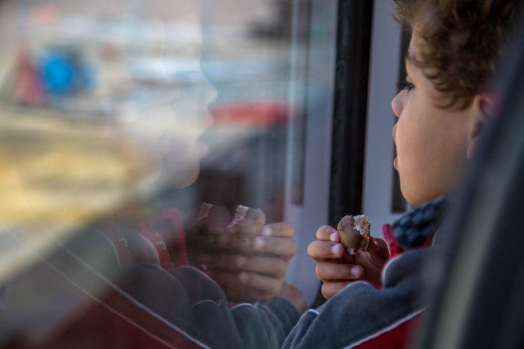 Boy Chocolate Conceptual Photography  Eating Headshot Holding Kid Thinking Train Traveling