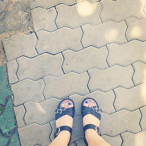 대프리카 페티큐어 파랑 Hot summerIwantblue