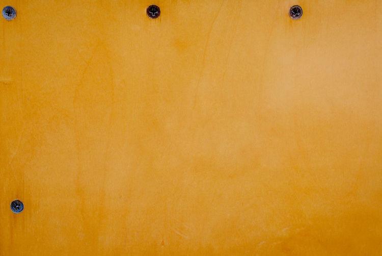 Detail shot of orange wall