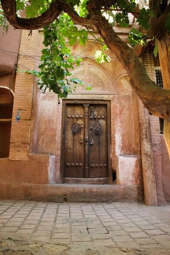 Architecture Building Exterior Built Structure Day Door Doorway Iran Islamic Architecture Kashan No People Outdoors Village Village Life