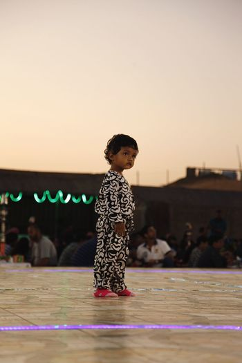 Dancer Kid Child Cute People Barefoot Eyeemphotography Taking Photos Dubai Enjoying Life Performing Arts Event Curiosity Sundown EyeEm