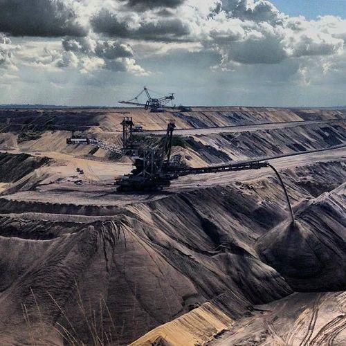 Tagebau Tagebau Garzweiler Kohleabbau Montan Industrie Deutschland Landscape
