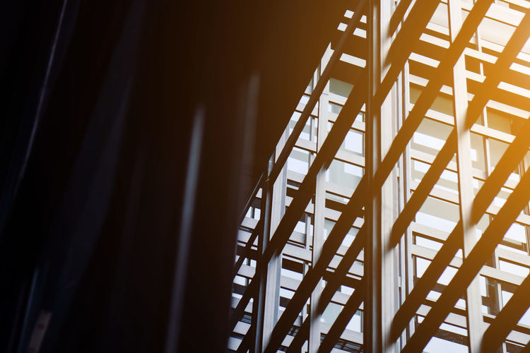 Modern office building exterior Architecture Absence Architectural Detail Architecture Brown Building Exterior Built Structure Chair Close-up Day Design Empty In A Row Indoors  Metal Modern Office Modern Office Buildings Modern Office Design Nature No People Office Building Office Building Exterior Office Buildings Architecture Pattern Seat Selective Focus Shadow Sunlight Wood - Material