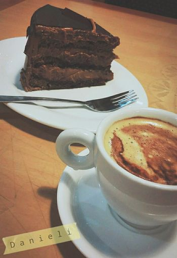 Cafe Latte Cafe Time Coffee ☕ Coffee Time Coffe Coffelover Pastel Cake Cake♥ Chile Chileanfood