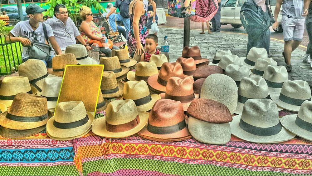 Panama Hat. West Indian Festival. Kirche Platz Etnic West Indian Festival People Watching