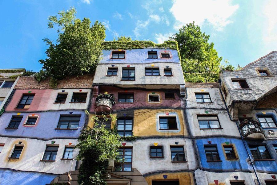 Vienna Hundertwasserhaus! Around The World By Lufthansa