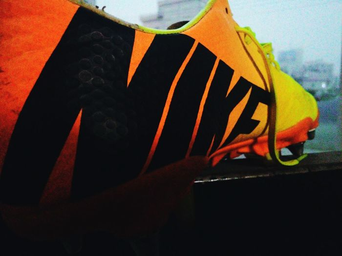 What I Value my soccer boot is one of them..