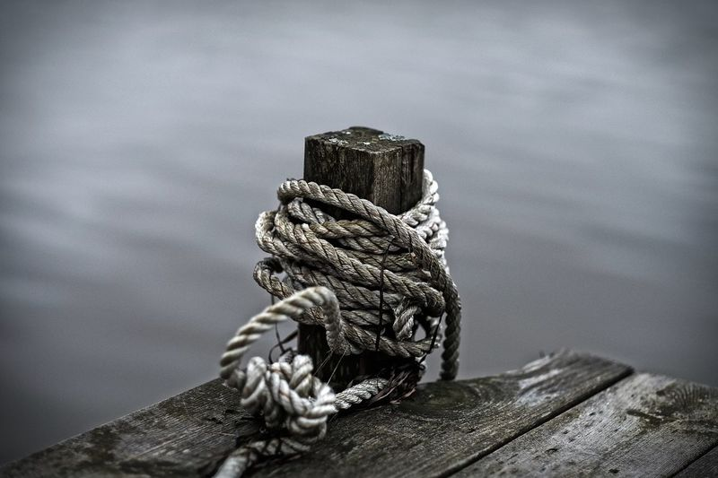Taking Photos Relaxing Photography Foto FUJIFILM X-T1 XF56mmADP Sweden Jetty Brygga Rope
