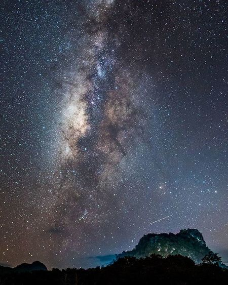 Our galaxy Galaxy Milkyway Star Night Night Lanscape Thailand Amzthld Universetoday Astrophotography Ngthainaturecalling Pixprosmania