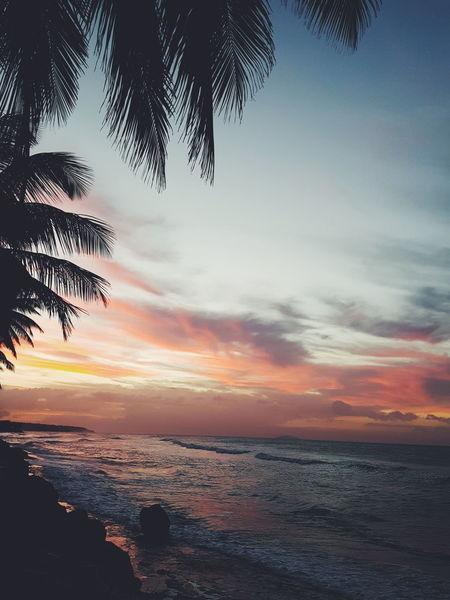 Igerspr Beach Sand Aguada Sunset Enjoying Life Puertorico