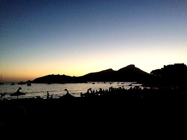 Beach And Sky Summer Nights