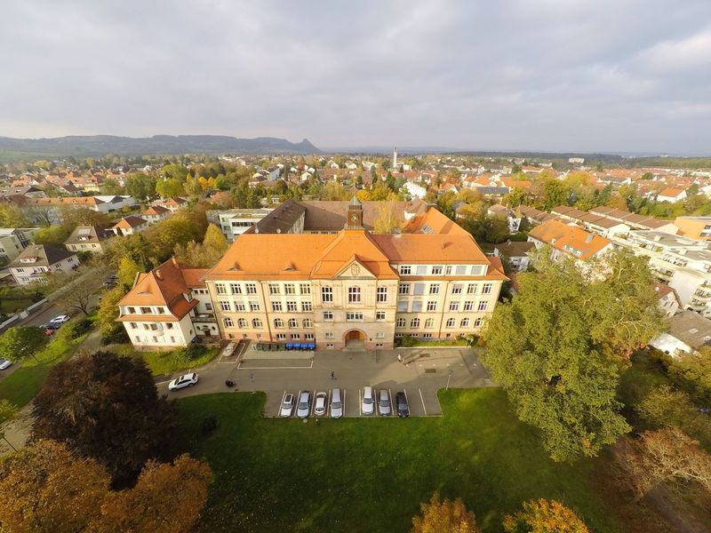 School Building Aerial Shot Dji Germany Dronephotography Drone  Bodenseeregion Bodensee School Flying