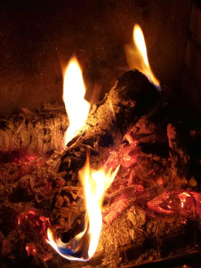 Burning Wood Close-up Close Up Flames Glut Glut Und Asche Fire Fireplace Fire And Flames Fine Art Photography Ladyphotographerofthemonth Showcase July