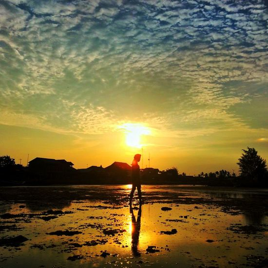 Showcase: January sunset in Pulauharapan, KepulauanSeribu, INDONESIA