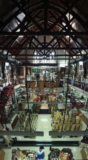 Handicrafts Shop Exhibits Handiwork Kerala Gift Shopping