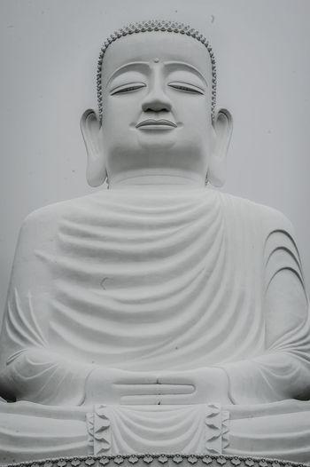 Close-up of buddha statue