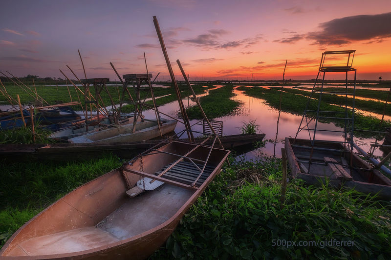 Angono Angonorizal Boat Fujifilm X-E2 Fujifilmxf1024 Gidferrer Nature Outdoors Philippines Sky Sunset First Eyeem Photo