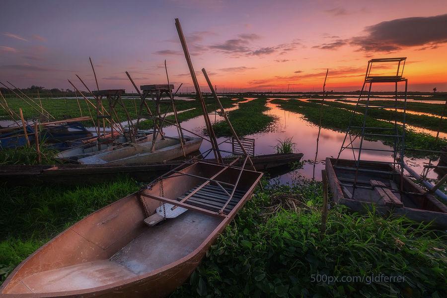 Angono Angonorizal Boat Fujifilm X-E2 Fujifilmxf1024 Gidferrer Nature Outdoors Philippines Sky Sunset First Eyeem Photo