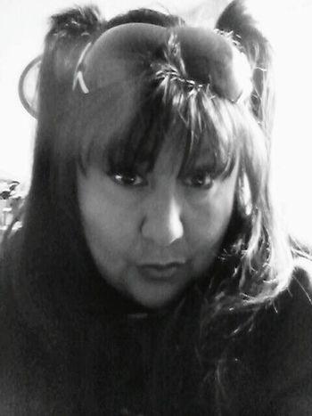 B & W Portrait That's Me San Jose Fashion Hair