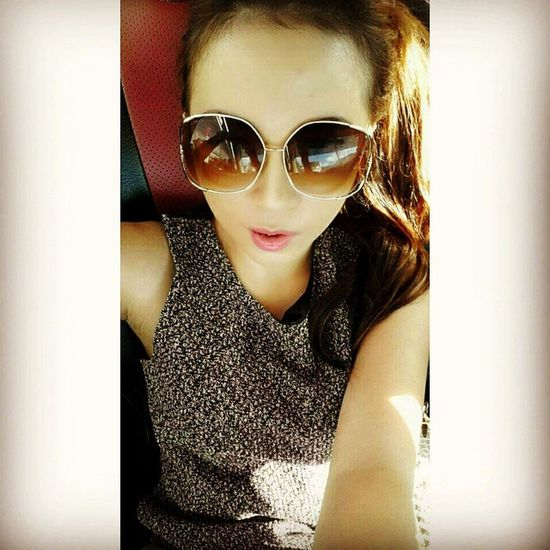 Itsme Selfie Selcam OnTheCar glasses asiangirl likeit doubletap likeforlike f4f