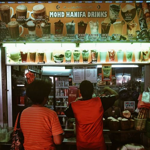 Indian Muslim drink stall in Tekka Market Chendol Power Local Ramadhan 2014 VSCO