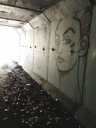 Tunnel art No People Tunnel Tunnel View Tunnels Tunnel Of Light Modern Art Graffiti Graffiti Art Graffiti & Streetart Graffiti Photography Graffitti Graffiti Wall Woman Portrait Woman Art Is Everywhere