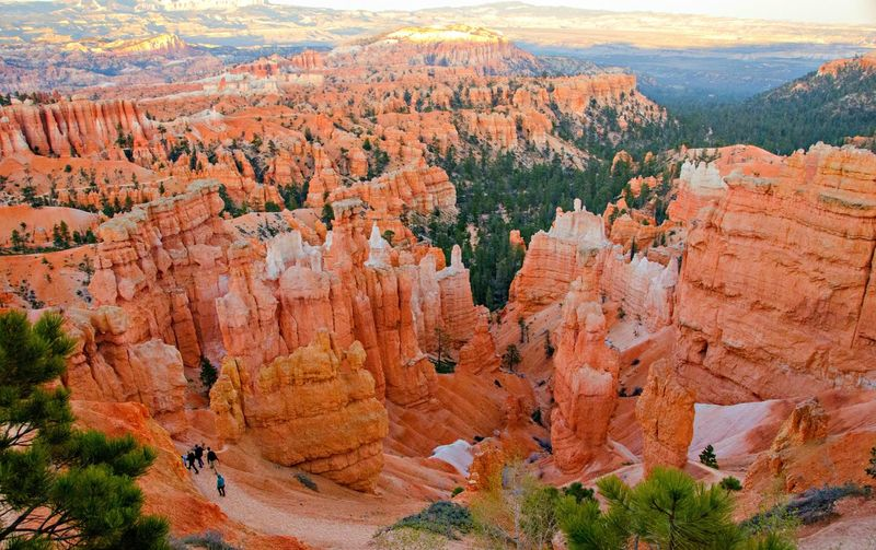 Golden Hour (Sunset) in action !! Brown Bryce Canyon National Park Composition Elevated View Golden Hour In Action High Angle View National Park Natural Pattern Nature_collection Outdoors Rock Rock Formation Stone Sunset Top Perspective