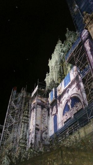 Catedral De Santiago Taking Photos Photography Galicia Night