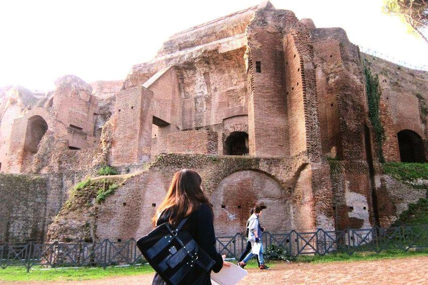 Tourguiding Rome